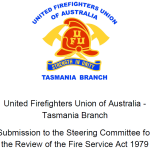 Fire Service Act Review Submission